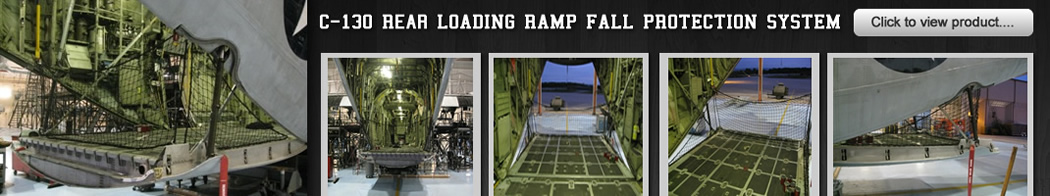 C130 Rear Fall Protection System from L.G. White Safety Corporation